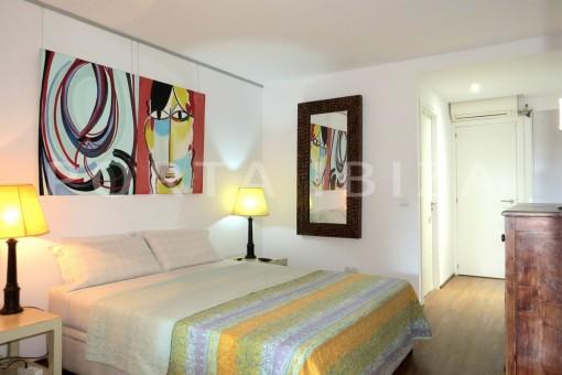 bedroom2-wonderful apartment- Botafoch