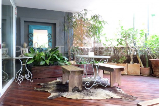 chillout-wonderful apartment- Botafoch-Ibiza