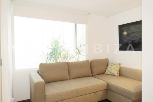 living-wonderful apartment- Botafoch-Ibiza