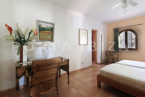 bedroom guesthouse-san carlos-ibiza