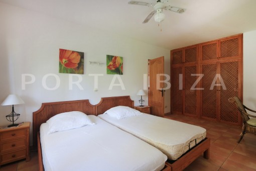 guesthouse bedroom-san carlos-ibiza