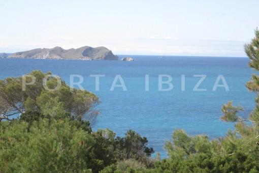 amazing sea view-villa-cala tarida