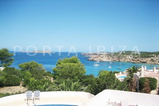 sea view-villa-cala tarida