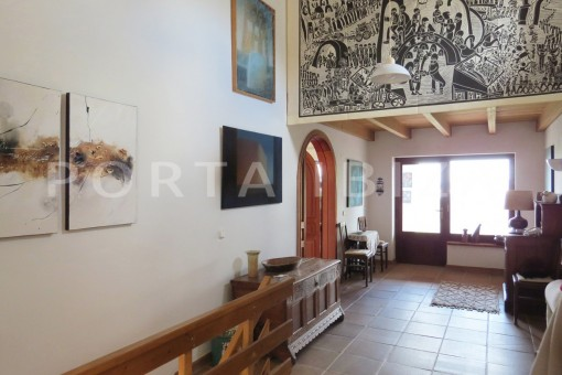 entrance area-charming house-san augustin-benimussa valley