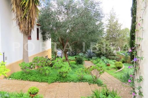 garden-charming house-san augustin-benimussa valley