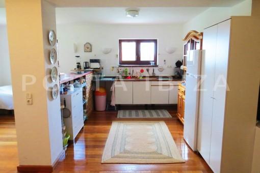 kitchen-apartment-san augustin-benimussa valley