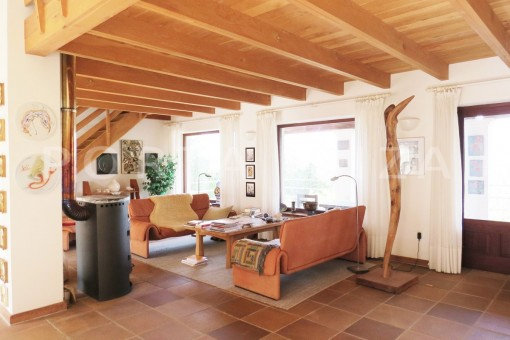 living-charming house-san augustin-benimussa valley