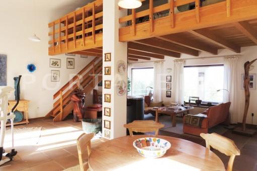 livingroom-charming house-san augustin-benimussa valley