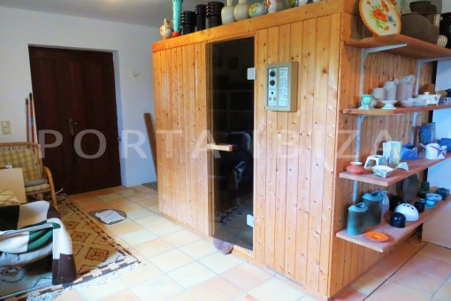 sauna-charming house-san augustin-benimussa valley