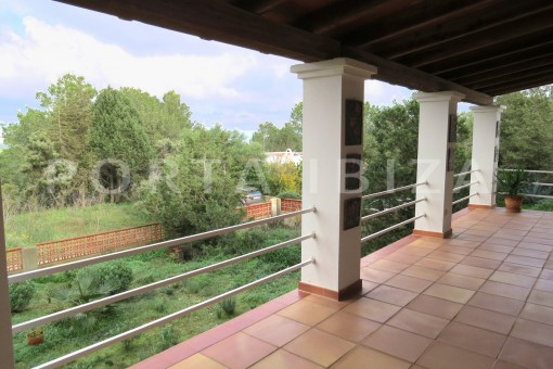 terrace-charming house-san augustin-benimussa valley