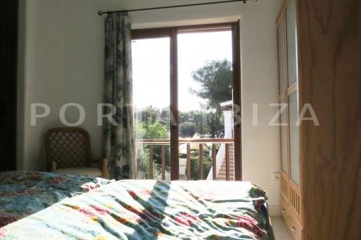 bedroom area-wonderful apartment-S'Argamassa-sea view