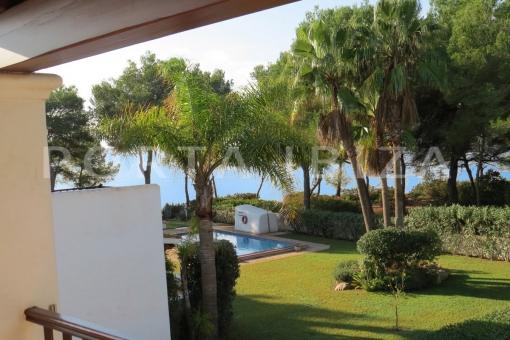 Wunderbare Wohnung bei S'Argamassa mit Meerblick und direktem Strandzugang