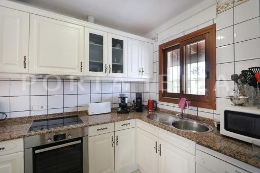 kitchen area-wonderful apartment-sea view