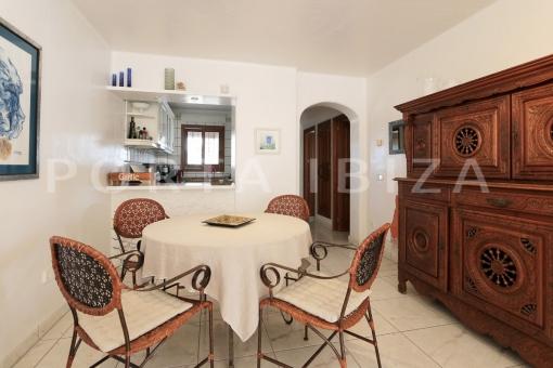 living area-apartment-S'Argamassa-sea view
