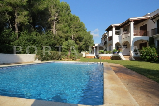 pool & apartment area-S'Argamassa-sea view