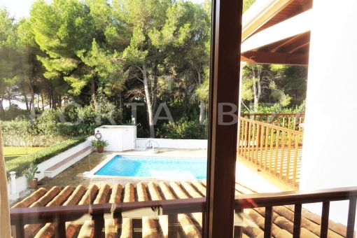 pool-wonderful apartment-S'Argamassa-sea view