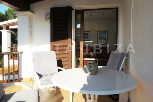 terrace-wonderful apartment-S'Argamassa-sea view