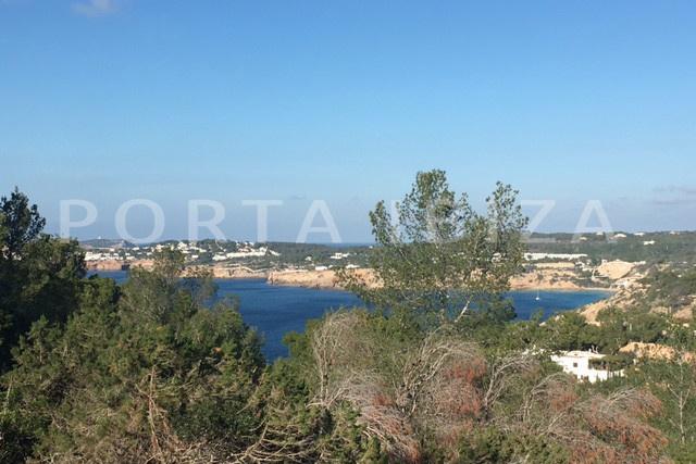 Fantastisches Baugrundstück  mit fabelhaftem Meerblick in Cala Moli