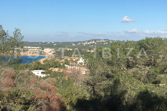 cala moli-building plot-sea view