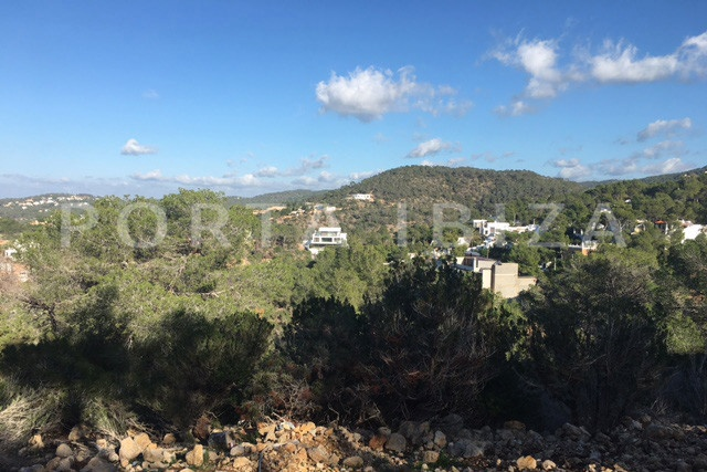 sea view-building plot-cala moli