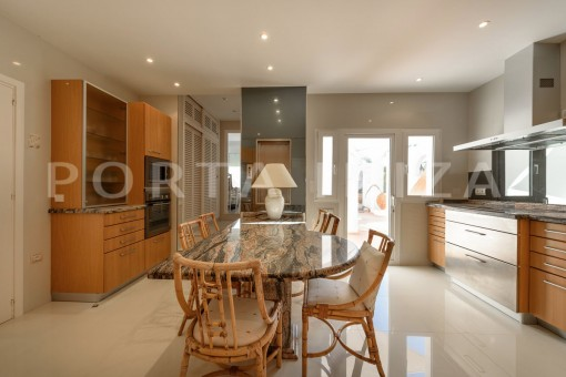 kitchen-unique property-private sea access-fabulous views