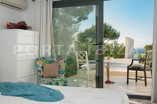 bedroom2-wonderful villa-sea access-southwest coast