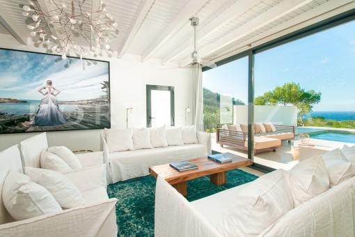 livingroom-wonderful villa-sea view-southwest coast