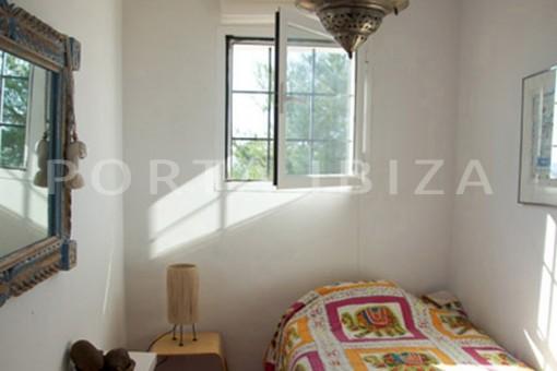 bedroom3-wonderful modern villa-magnificent setting-Na Xamena