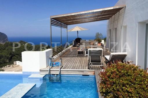 Wunderbare moderne Villa in grandioser Lage bei Na Xamena