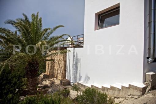 wonderful modern villa-magnificent setting-Ibiza-Na Xamena