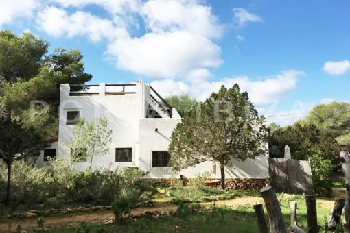 charming garden & property-fabulous location-Cala Conta