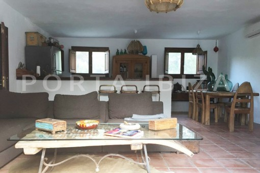 living area-charming property-fabulous location-Cala Conta