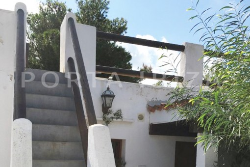 roof terrace-charming property-fabulous location-Cala Conta