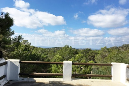 roof terrace view-charming property-fabulous location-Cala Conta
