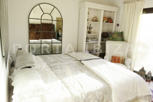 bedroom1-gorgeous property-phenomenal sea and sunset view