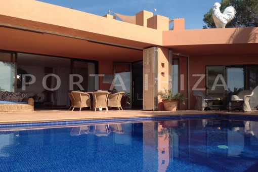 living & pool-gorgeous property-phenomenal sea and sunset view
