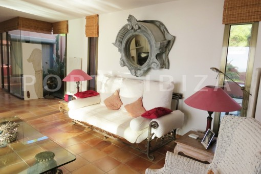 livingroom area-gorgeous property-phenomenal sea and sunset view