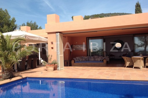 pool & chillout-gorgeous property-phenomenal sea and sunset view