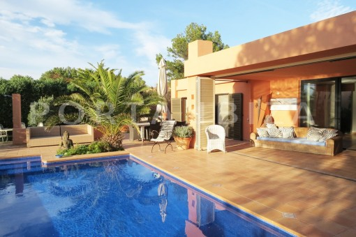 pool-gorgeous property with a phenomenal sea and sunset view