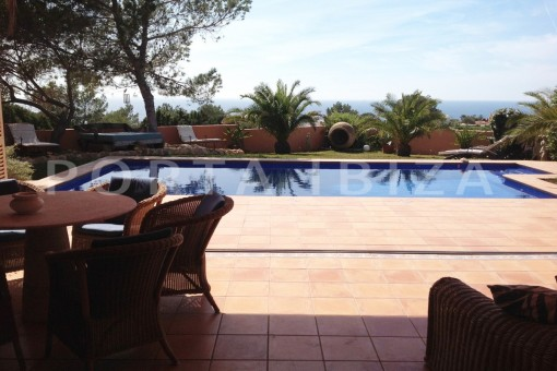 pool terraces-gorgeous property-phenomenal sea and sunset view