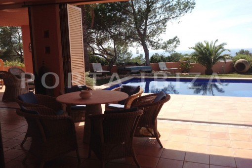 relax & pool-gorgeous property-phenomenal sea and sunset view