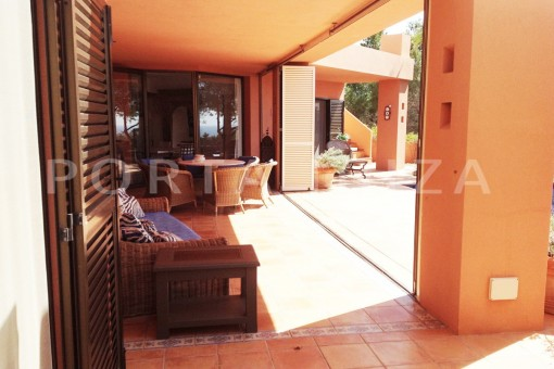 terraces-gorgeous property-phenomenal sea and sunset view