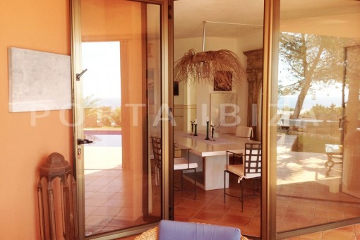 terrace entrance-gorgeous property