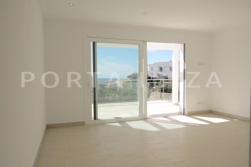 bedroom2-beautiful new construction villa at Can Pepsimo