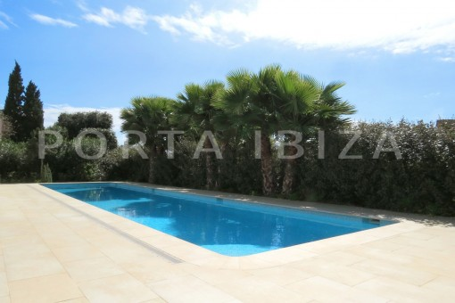 pool-beautiful new construction villa at Can Pepsimo