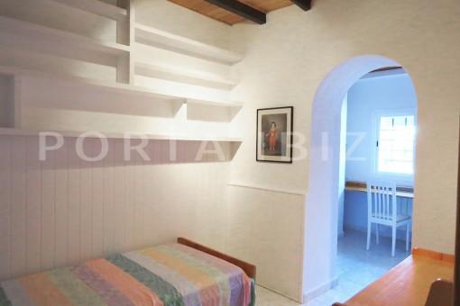 bedroom4-charming house-central- near Cala Pada
