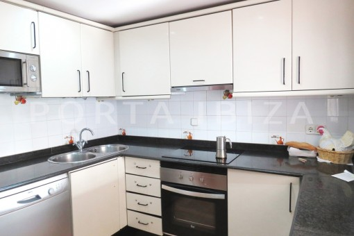 kitchen-charming house-central- near Cala Pada