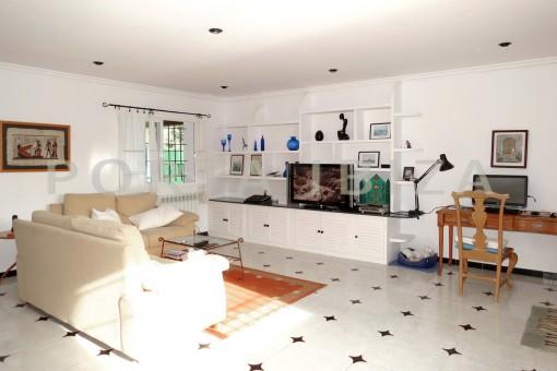 livingroom-charming house-central- near Cala Pada