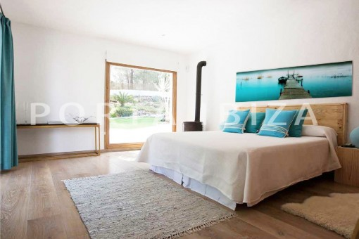bedroom1-wonderful villa-San José-mediterranean garden
