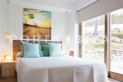 bedroom2-wonderful villa-San José-mediterranean garden